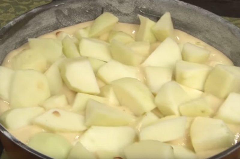 gateau aux pommes